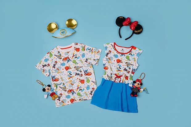 Commemorative Shanghai Disney Resort First Anniversary apparel(C) Disney