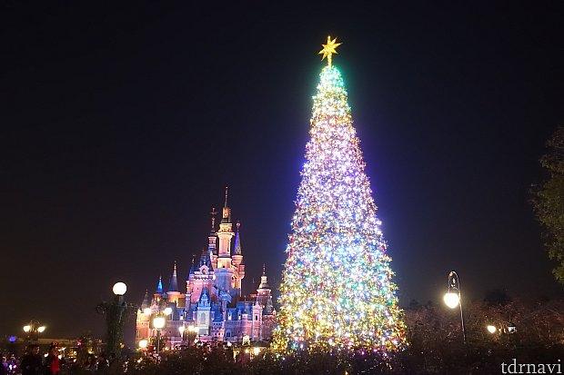 上海ディズニーランドのクリスマス情報まとめ 2016