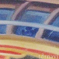レールウェイ壁画:飛空挺の窓