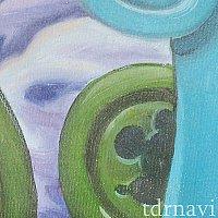レールウェイ壁画:緑の石版