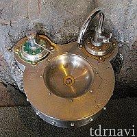 ノーチラスギャレーの手洗い場