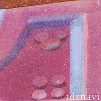 レールウェイ壁画:橋脚のボルト