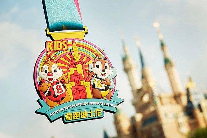 キッズランメダル🥇 (C) Disney