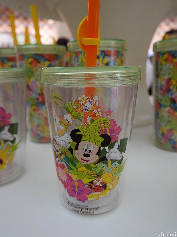 夏イベ衣装のカップ。65元。これにフローズンドリンクを入れてもらうこともできるみたいです!
