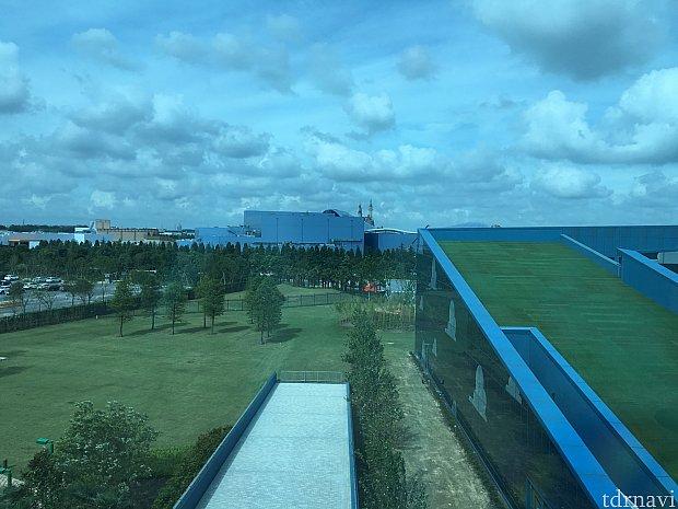お城が遠くに見えます(^o^)