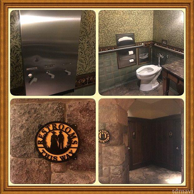 1階の共用トイレにはなんと! ナプキン タンポン等が無料でした!FREE  素晴らしい(^o^)パーク内は有料自販機ですよね!
