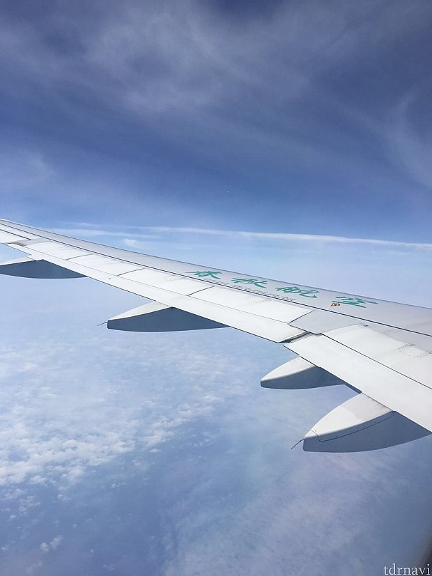 春秋航空で行く空の旅です✈️☁️