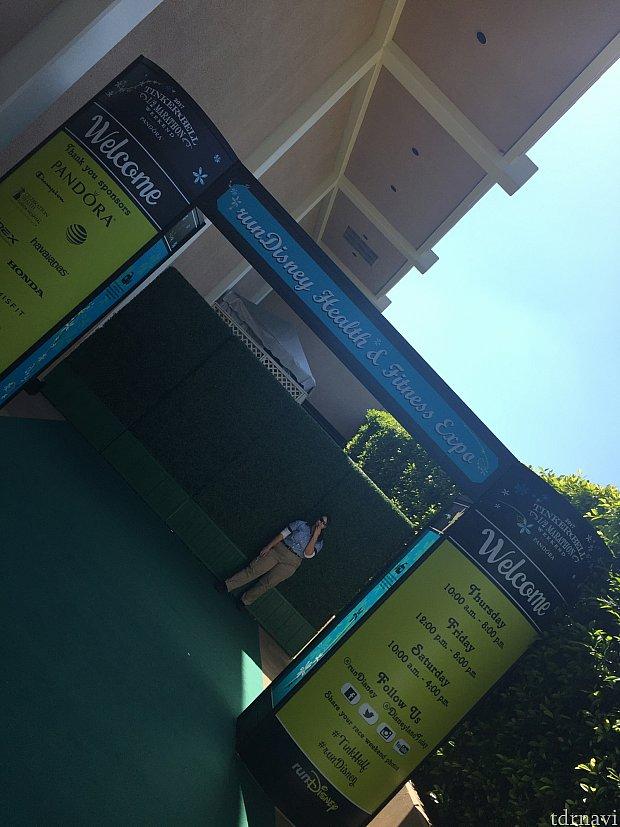 ExpoはDisneyland Hotelのコンベンションセンター。