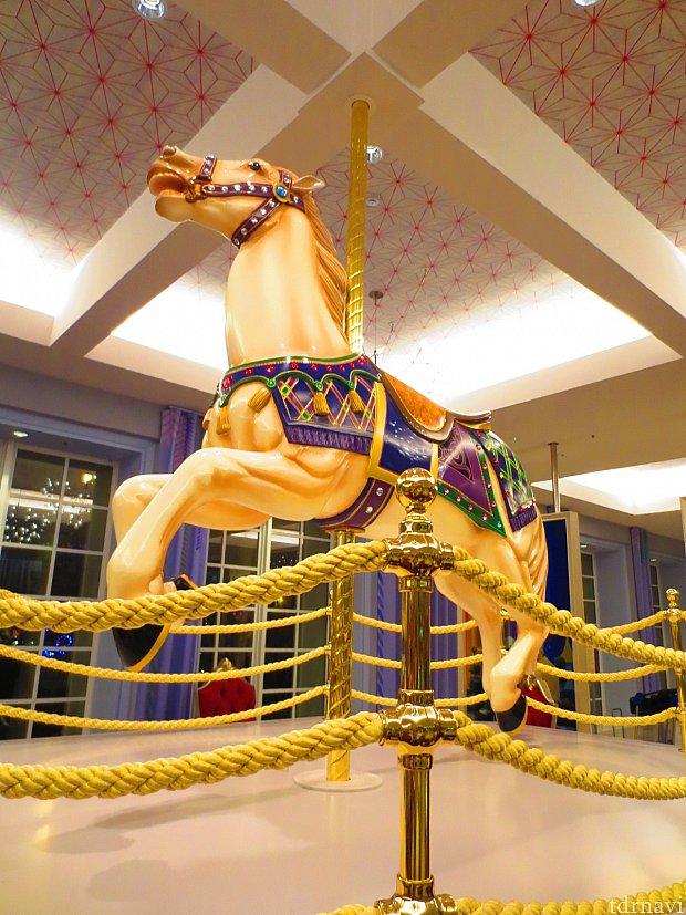 カルーセルの木馬