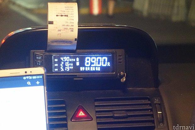 無事に浦東空港に到着。カーナビさすが!89元だったので100元渡して降りました。運転手さんはシェイシェイを連呼しながらスーツケースを出してくれました。