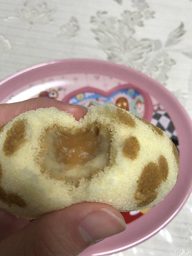 キャラメルバナナクリームが とろっと口の中でとろけて とても美味しい(o^^o)
