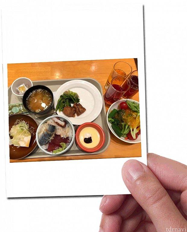 酢飯丼がオススメです(^o^)
