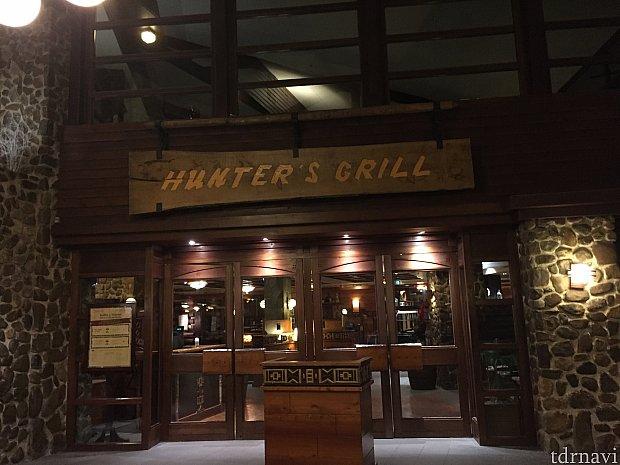 Hunter's Grillはバイキング形式のレストラン。