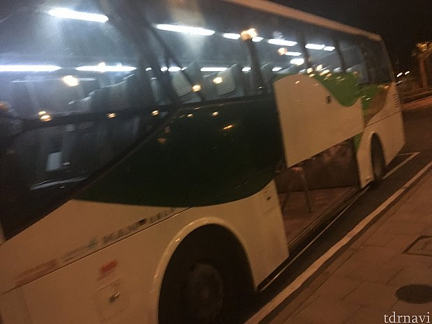 ディズニーホテル専用シャトルバス