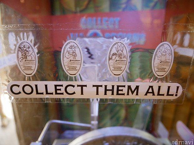 スーベニアメダルも販売