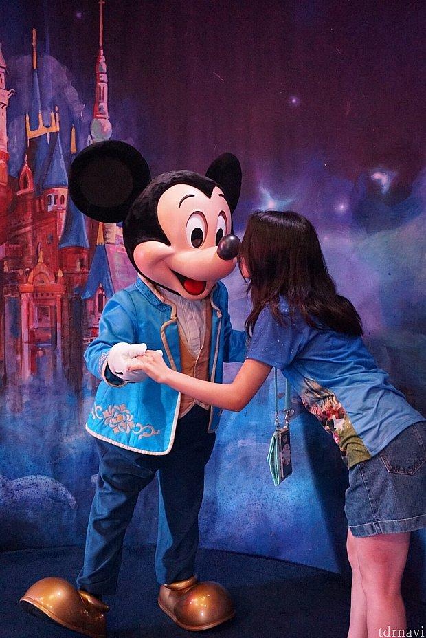鼻キス💗上海のみんなは、鼻キスが好きだったイメージです(笑)