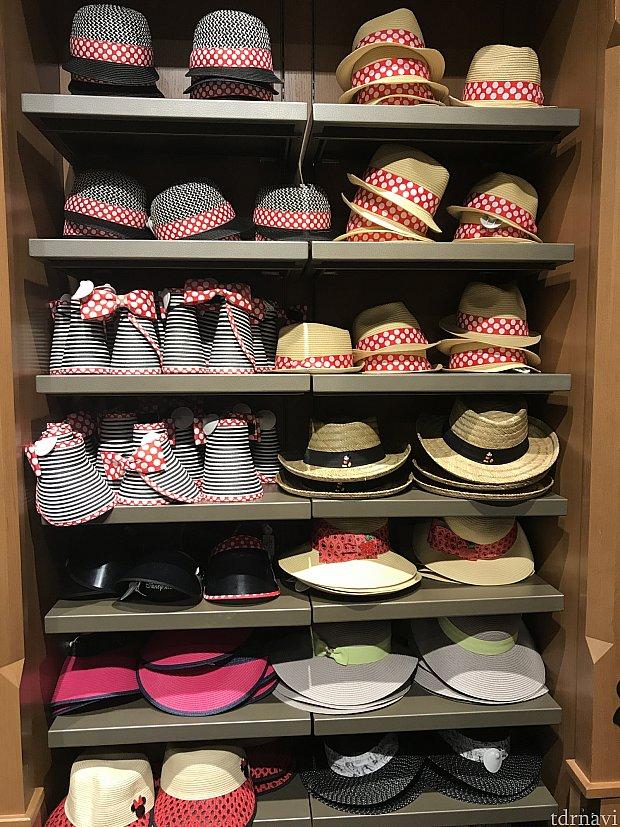 帽子も色々