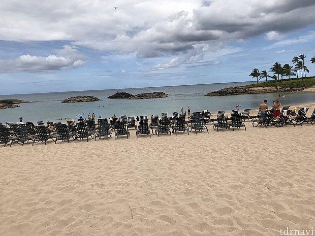 マリオットのビーチのが空いてました♪