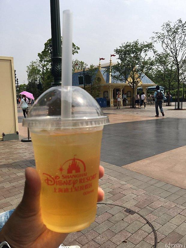 ハチミツ柚子茶。甘くて美味しい!
