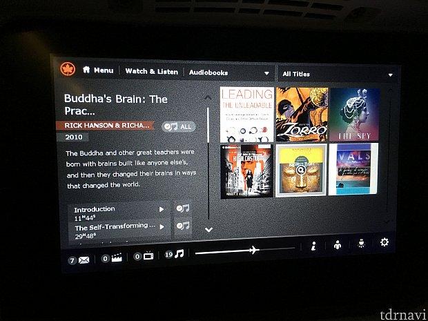 「ブッダの脳」という高尚なオーディオブックを聞いていました。内容はさっぱりですが…