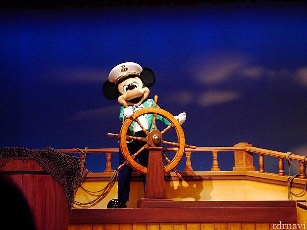 ここからがジェラトーニの物語!キャプテンミッキー!カッコいいです☆