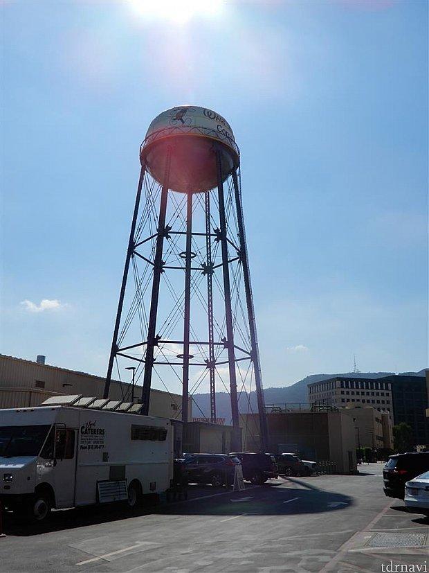ディズニースタジオ内の給水塔
