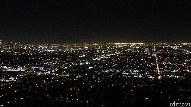 夜景が素晴らしかった。