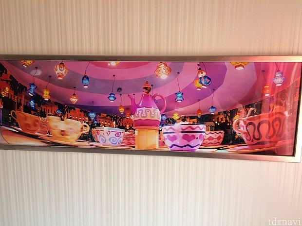 ここからはホテルにあった絵画シリーズ。