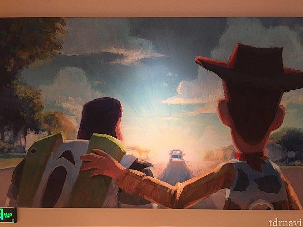 壁にあった絵。