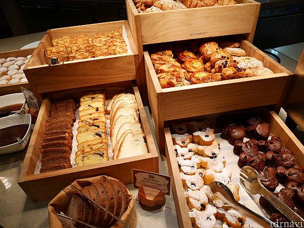 パンの種類も豊富!