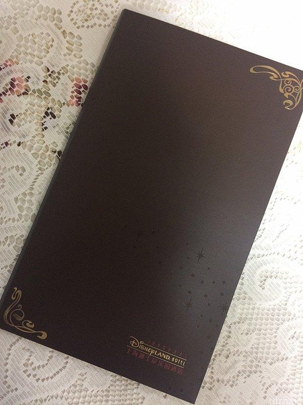 特製ブックレット。シンプルながらも上品なデザイン☆