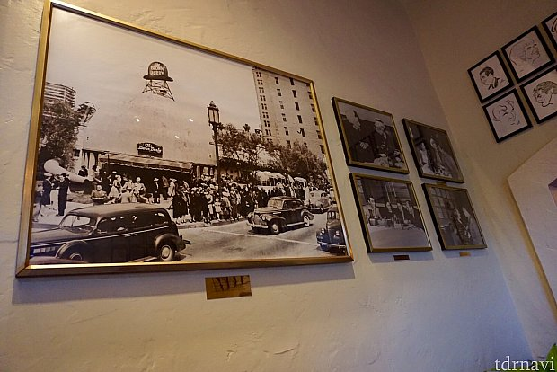 このハリウッドブラウンダービーはハリウッドで有名な老舗レストランです。コブサラダが有名です。