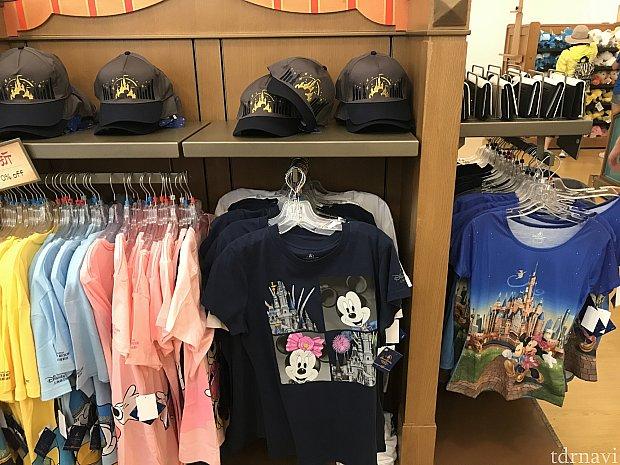 Tシャツの種類も増えてる!