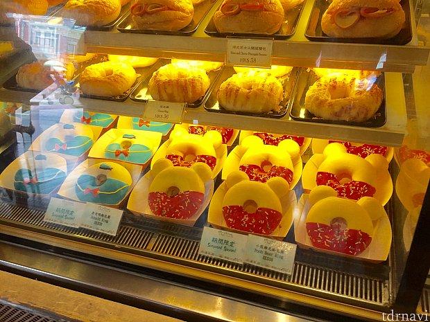 期間限定のドナルドとプーさんのドーナツが可愛い\(^^)/