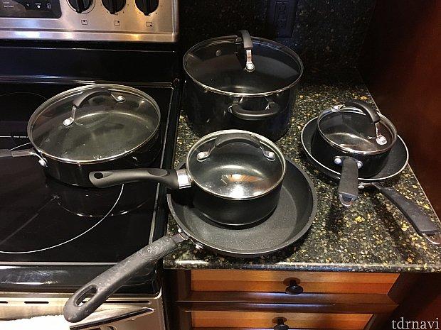 フライパンやお鍋など