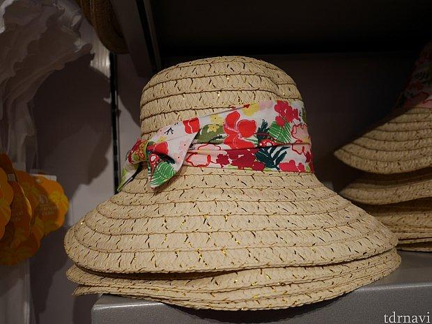 【夏向け商品】じっくり見ないとどこがディズニーかよく分からなかったけど、麦わらがラメラメしててかわいかった!上海暑いので帽子必須です!