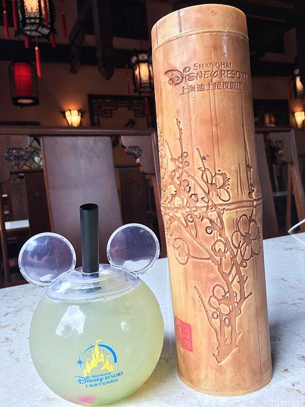 謎の竹と、ミッキードリンク