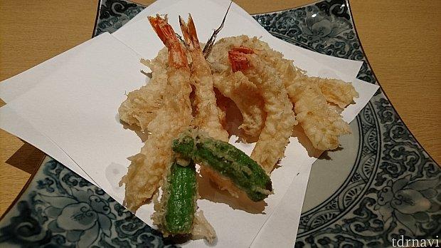 天ぷら※写真は二人分です