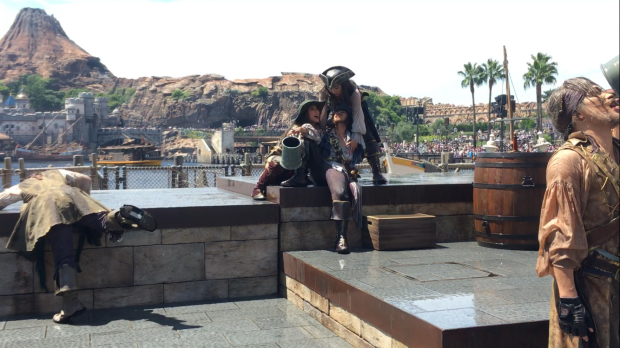 酔っ払いの海賊達☠️