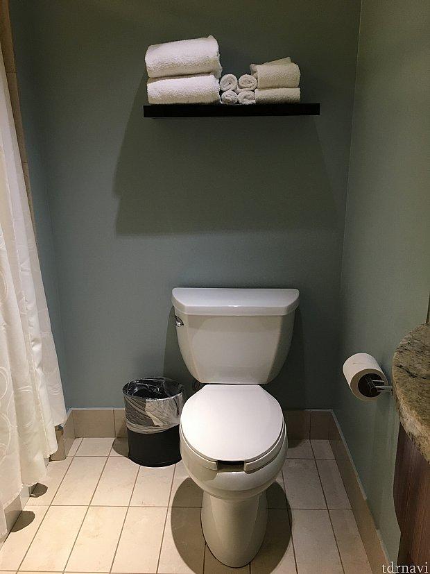 いたって普通のトイレ