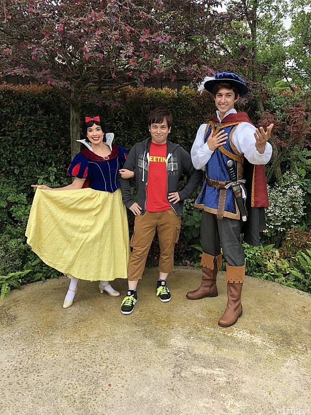 白雪姫と王子と一般人w