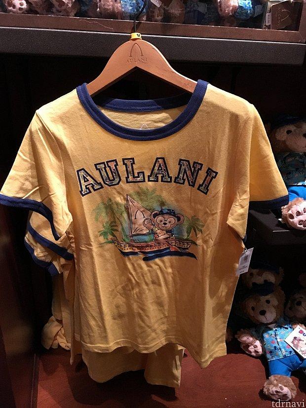 ダッフィーのTシャツ(子供用)25ドル