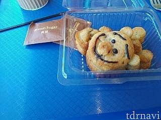 軽食レストランの「ミッキーフレンズ・バナナケーキ」