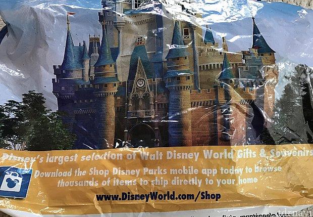 普通の袋……と思いきや、送ったものはネットショップの広告付きのものに入れ替えられていました。
