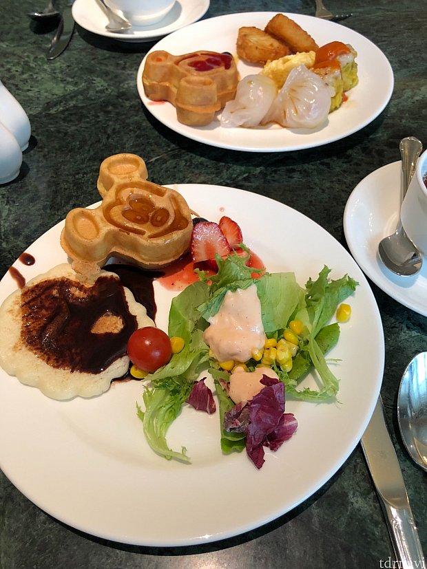 キングダムクラブラウンジの朝食