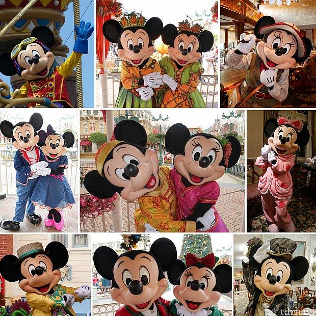 香港はキャラグリが充実してます😊1年を通して色んな衣装のミッキーやミニーに会えます😍一度行ってはまったらアップグレードしてみるのもありですね🎶