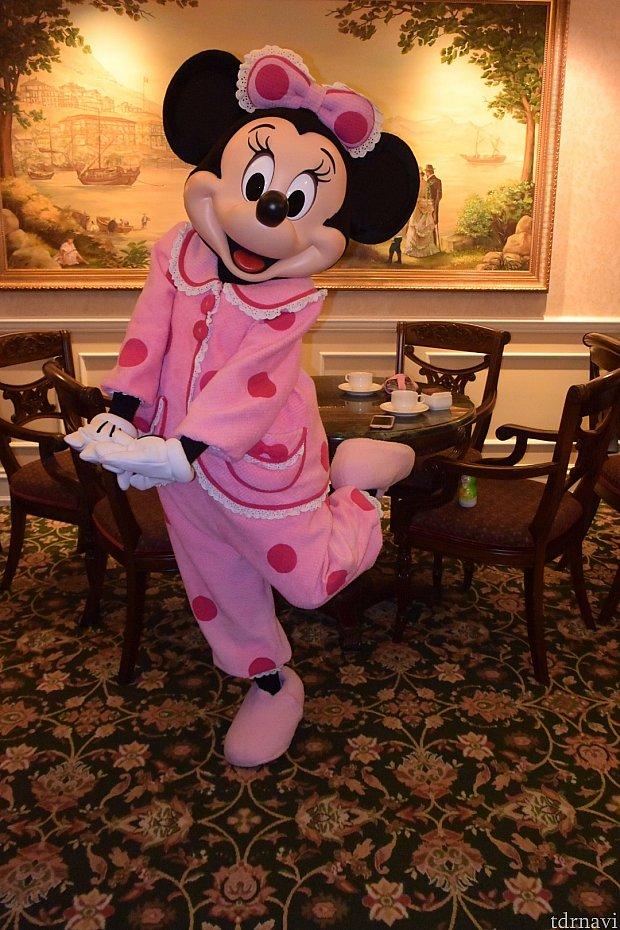 パジャマミニーちゃん、可愛すぎです。。嬉しすぎます。。