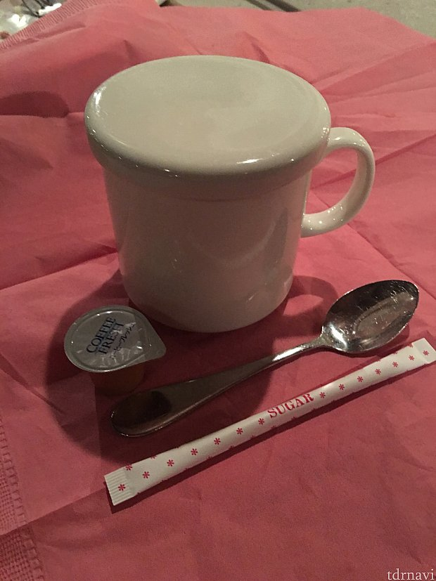 追加でホットコーヒーオーダーしました。390円