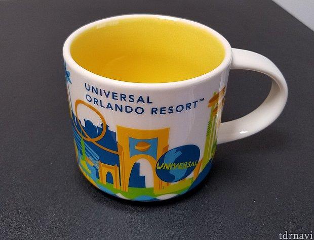 ユニバーサルオーランド限定マグカップもあります。 $16.99