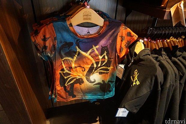 こちらもキッズ用Tシャツ。色合いがとても綺麗です。